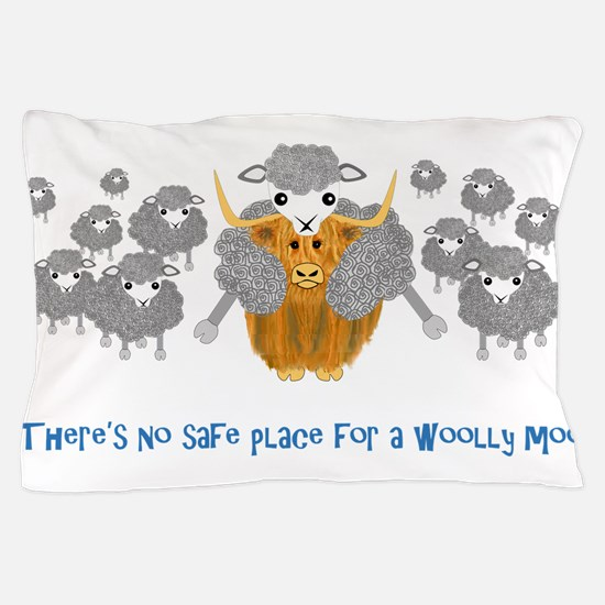 There's no safe place for a Woolly Moo - sheepskin
