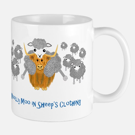 woolly moo in sheep's Mug