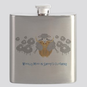 woolly moo in sheep's Flask