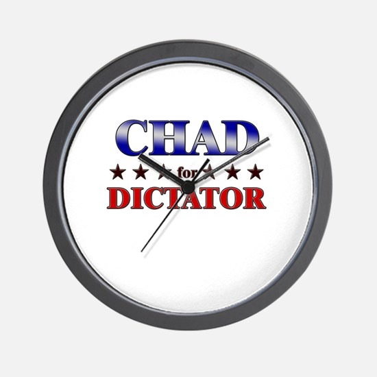 CHAD for dictator Wall Clock