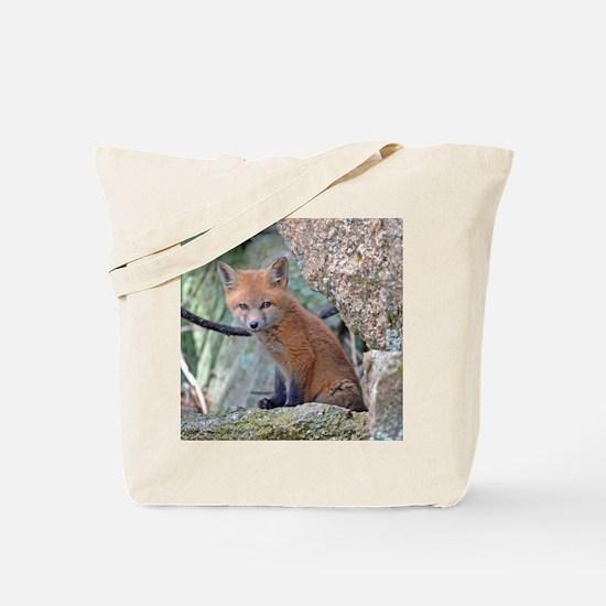 Cute Fox head Tote Bag