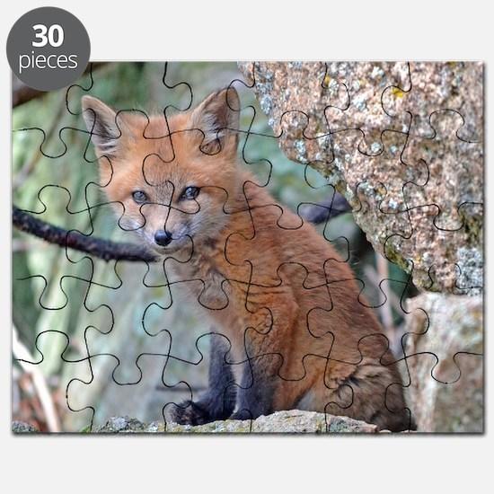 Cute Fox head Puzzle
