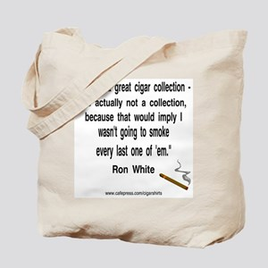 Ron White Cigar Tote Bag