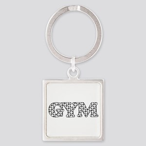 Gym Weight Lifting Pattern Keychains