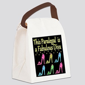 BEST PARALEGAL Canvas Lunch Bag