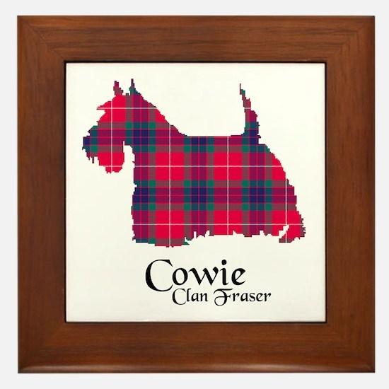 Terrier - Cowie.Fraser Framed Tile