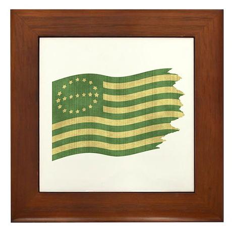 Eco Flag Framed Tile