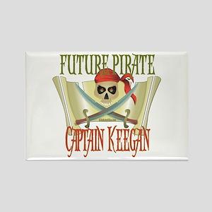 Captain Keegan Rectangle Magnet