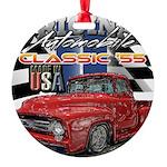 1955 Truck USA Ornament