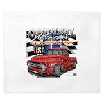 1955 Truck USA King Duvet