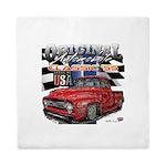 1955 Truck USA Queen Duvet