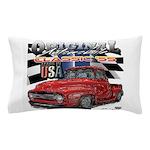 1955 Truck USA Pillow Case