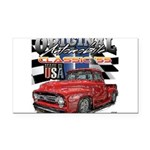 1955 Truck USA Rectangle Car Magnet