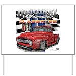 1955 Truck USA Yard Sign