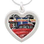 1955 Truck USA Necklaces