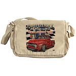 1955 Truck USA Messenger Bag