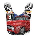1955 Truck USA Polyester Baby Bib