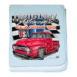 1955 Truck USA baby blanket