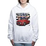 1955 Truck USA Women's Hooded Sweatshirt