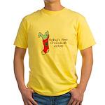 Baby's 1st Chanukah 08 Yellow T-Shirt