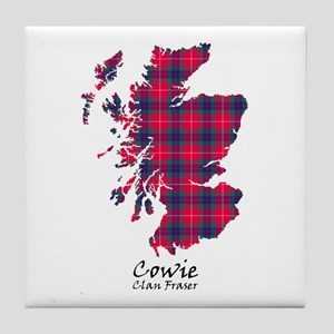 Map - Cowie.Fraser Tile Coaster