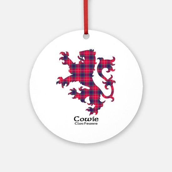 Lion - Cowie.Fraser Round Ornament