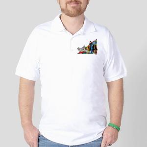 Doctor Strange Triangle Golf Shirt