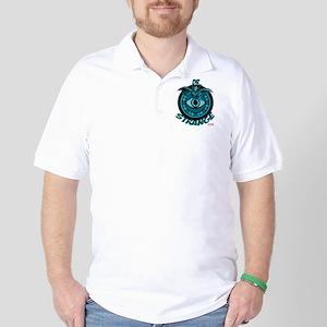 Doctor Strange Blue Golf Shirt