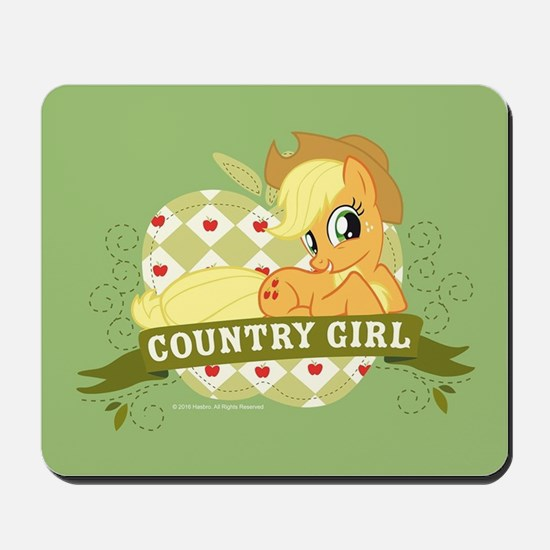 MLP Applejack Country Girl Mousepad