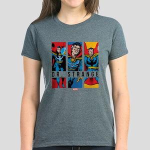 Doctor Strange Panels 2 Women's Dark T-Shirt