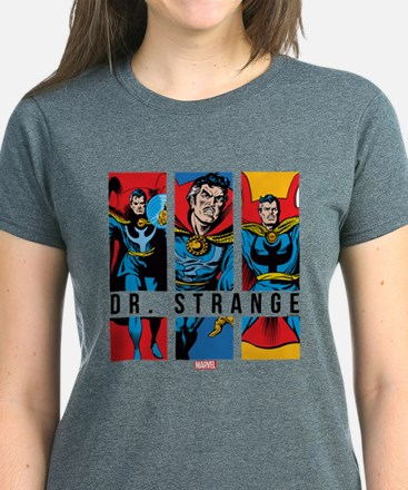 Doctor Strange Panels 2 Women's Dark T-Shirt