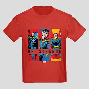 Doctor Strange Panels 2 Kids Dark T-Shirt