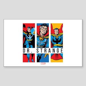 Doctor Strange Panels 2 Sticker (Rectangle)