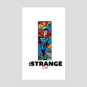 Doctor Strange Column Sticker (Rectangle)