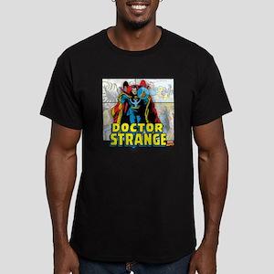 Doctor Strange Panels Men's Fitted T-Shirt (dark)