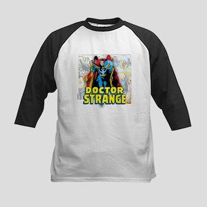 Doctor Strange Panels Kids Baseball Jersey
