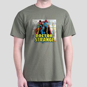 Doctor Strange Panels Dark T-Shirt