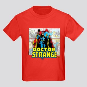 Doctor Strange Panels Kids Dark T-Shirt