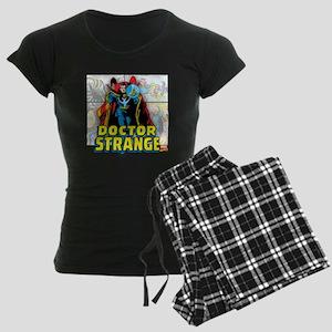 Doctor Strange Panels Women's Dark Pajamas