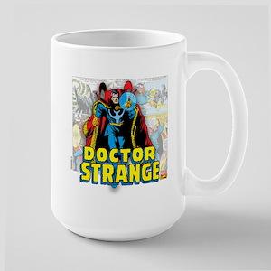 Doctor Strange Panels Large Mug