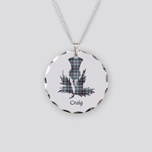 Thistle - Craig Necklace Circle Charm