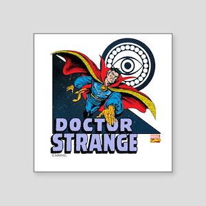 "Doctor Strange Triangle Square Sticker 3"" x 3"""