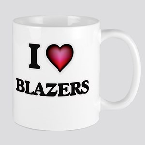 I Love Blazers Mugs