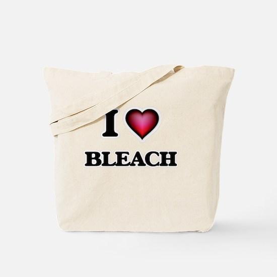 I Love Bleach Tote Bag