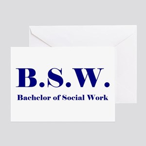 BSW (Design 2) Greeting Card