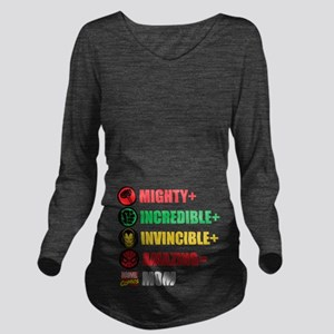 Marvel Mom Personali Long Sleeve Maternity T-Shirt