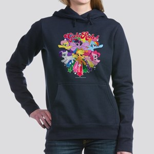 MLP Girls Rule! Women's Hooded Sweatshirt