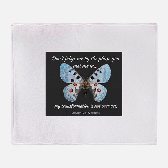 Cool Empowerment Throw Blanket