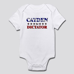 CAYDEN for dictator Infant Bodysuit