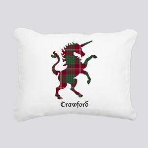 Unicorn - Crawford Rectangular Canvas Pillow